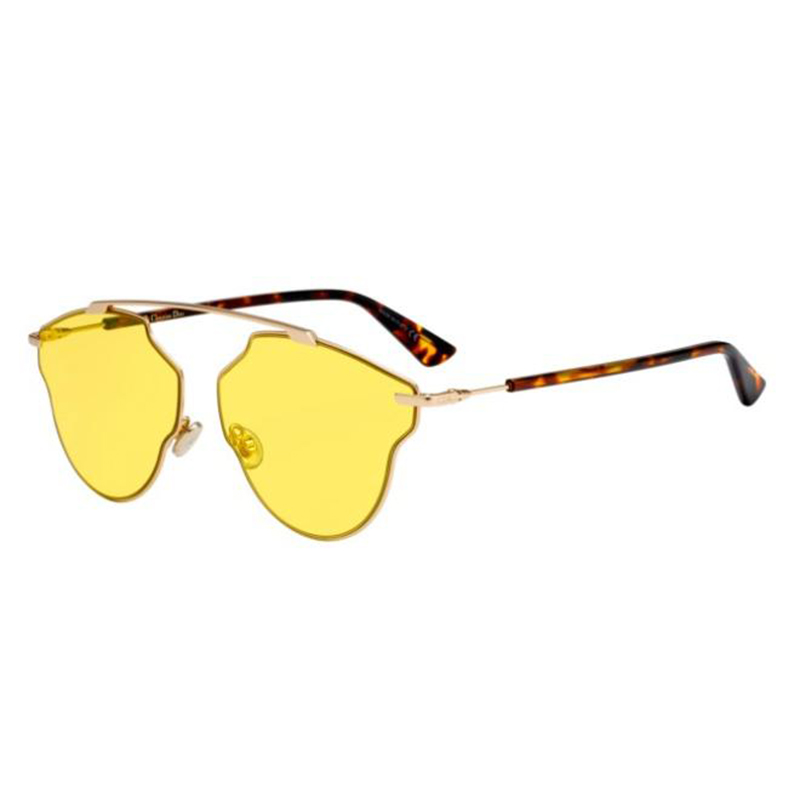 309b6bd097e4 DIOR SO REAL POP Gold Havana yellow