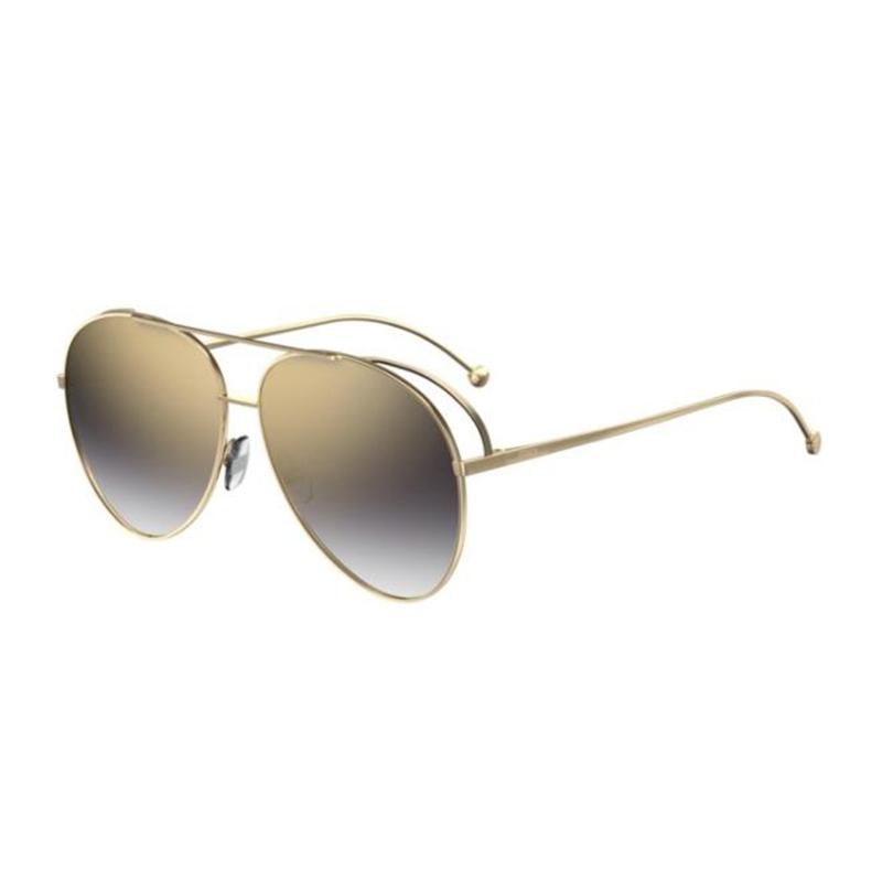 1a9686513 Fendi RUN AWAY FF 0286/S Gold/gold Grey Shaded | preciseoptics.gr