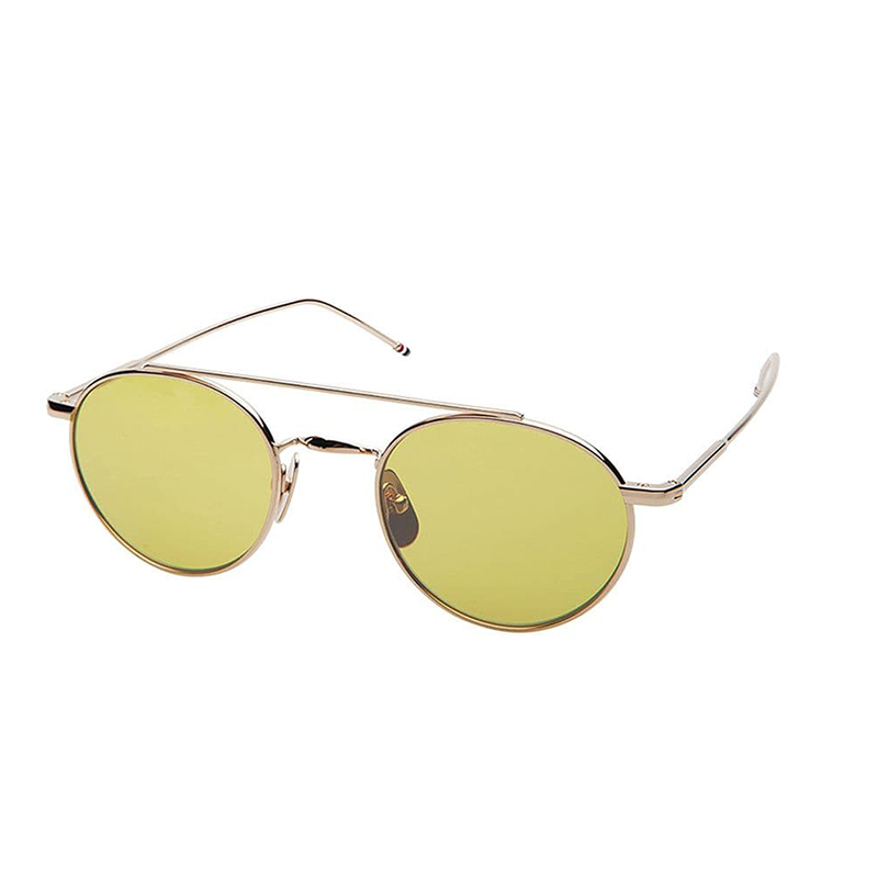 f7017047ce87 Shiny 12k Gold   Yellow Sunglasses